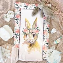 Obaby Eat Sleep Repeat Changing Mat-Watercolour Rabbit