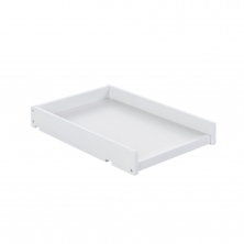 Obaby Space Saver Cot Top Changer-White (NEW)