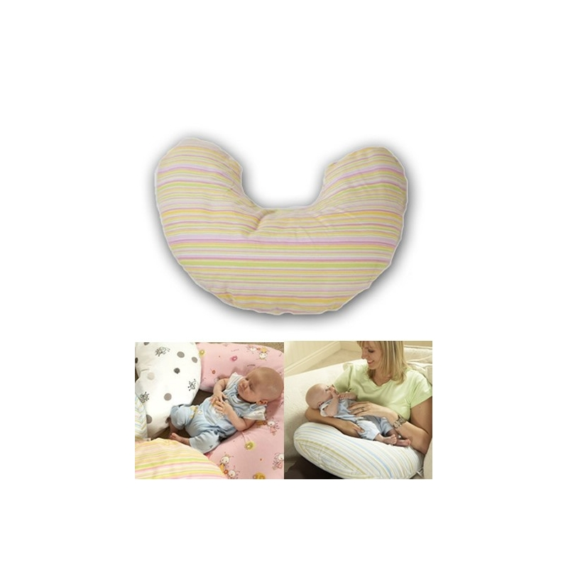 Tippitoes Nimbus Nursing Pillow-Pink Candy + FREE SPARE COVER!