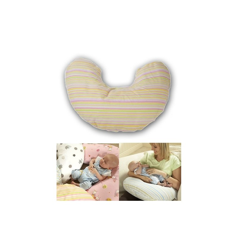 Tippitoes Nimbus Nursing Pillow-Pink Candy