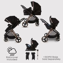 Red Kite Push Me Pace Amber Travel System-Rose Gold (2021)