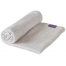Cellular Blanket Crib/Moses Basket-Grey