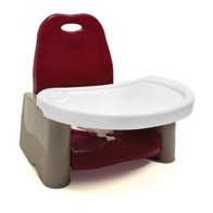 The First Years Swing Tray Booster Seat-Cranberry