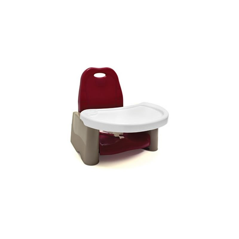 The First Years Swing Tray Booster Seat Cranberry