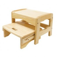 Safety 1st Wooden 2 Step Stool (NEW 2019)