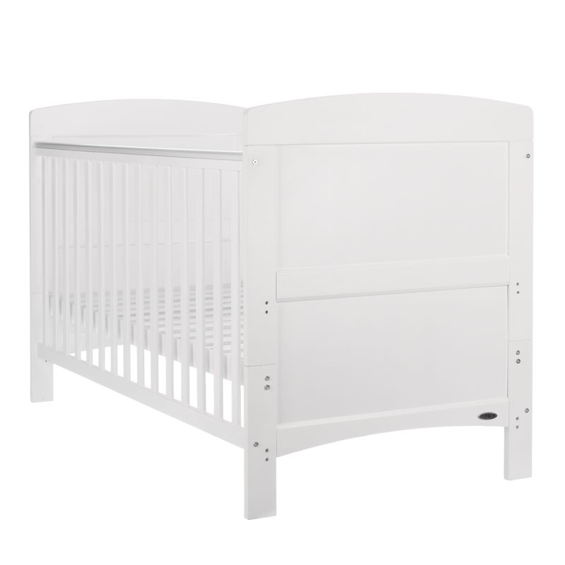 OBaby Grace Cot Bed-White