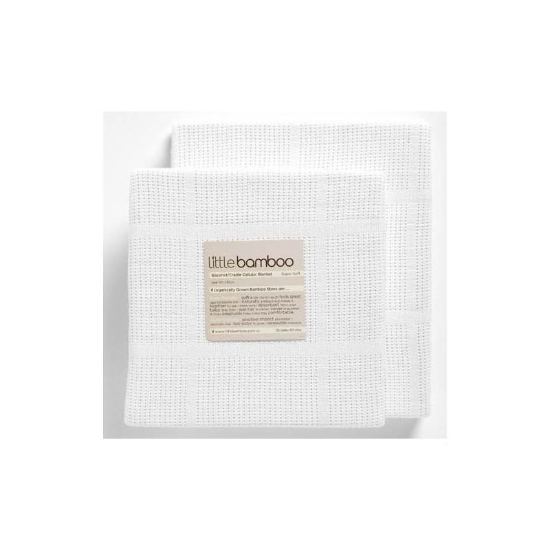 Little Bamboo Airflow Cellular Bassinet Blanket