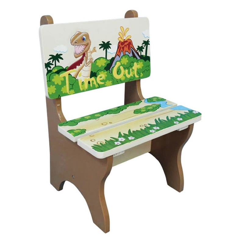 Teamson Dinosaur Time Out Chair (TD-0078A)