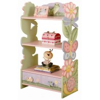 Teamson Magic Garden Book Shelf with Drawer (KYW-7500A)
