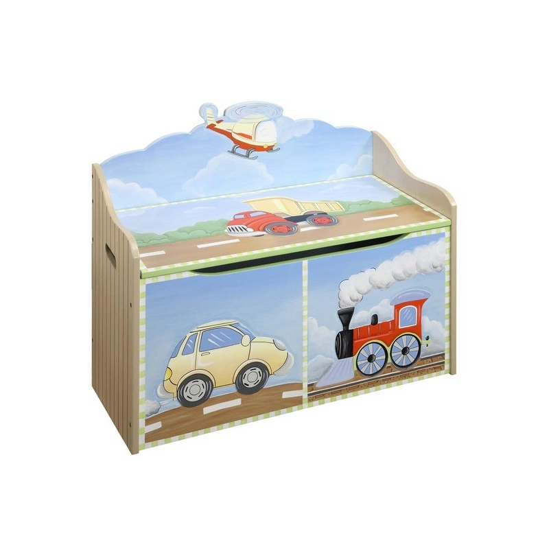 Teamson Transport Toy Chest (9940A)