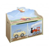 Teamson Transportation Toy Chest (9940A)