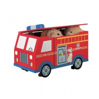 Teamson Transportation Fire Engine Trunk On Wheels (W-4007A)