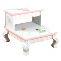 Teamson Princess & Frog Step Stool (7470A)