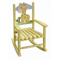 Teamson Safari Rocking Chair-Giraffe (W-8339A)