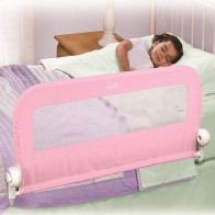 Summer Infant Grow With Me Single Bedrail-Pink (New)