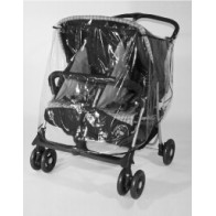 Universal Twin Pushchair raincover