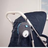 Koo-di Keep Me Dry Stroller Rain Cover-Grey