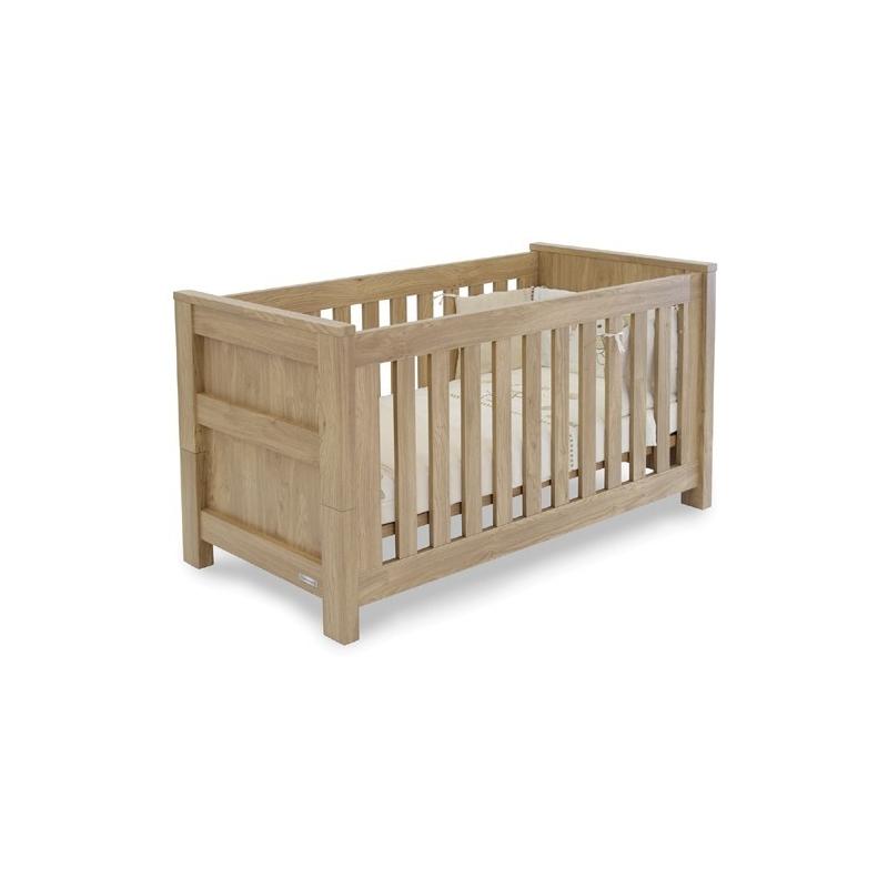BabyStyle Bordeaux Cot Bed-Oak