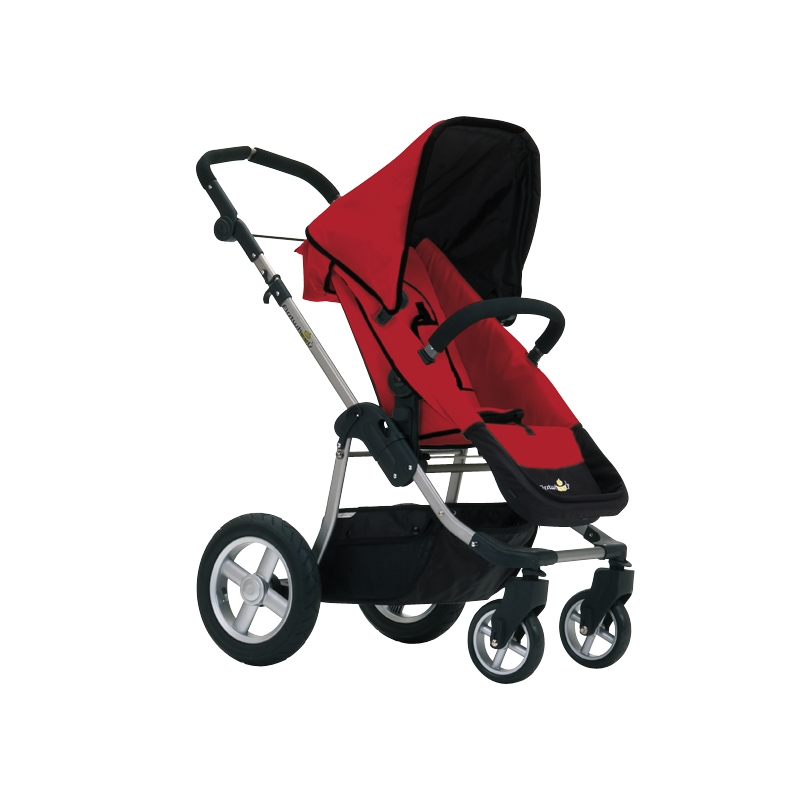 first-wheels-city-elite-stroller-red