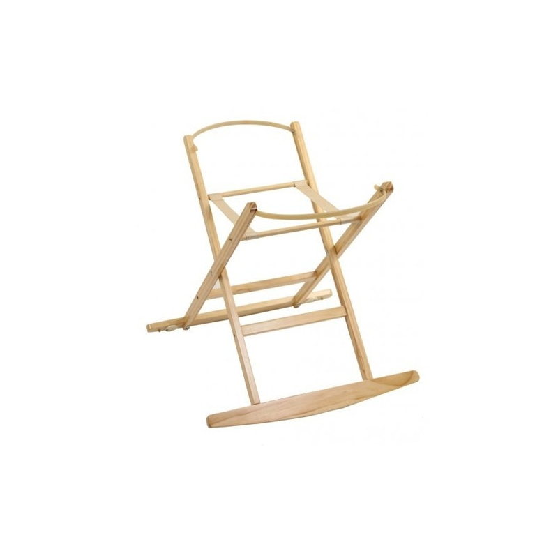 Dormouse Rocking Moses Basket Stand-White