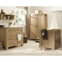 BabyStyle Bordeaux Room Set-Oak + Free Sprung Worth £79!