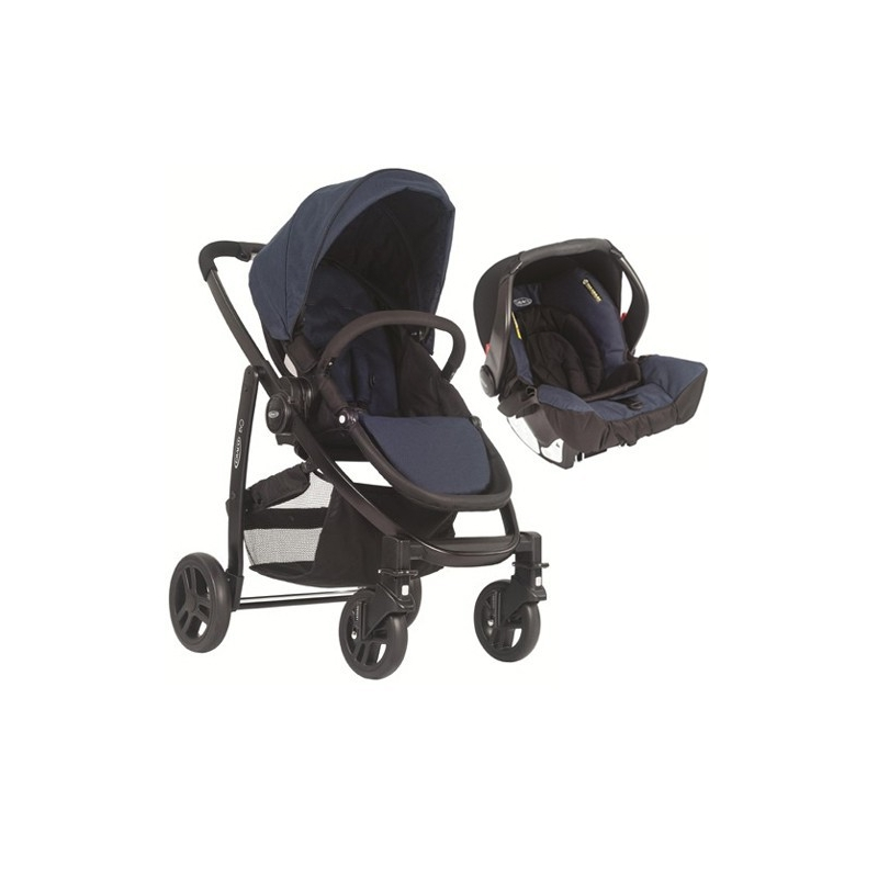 Graco Evo 2in1 Travel System-Navy (New 2014)