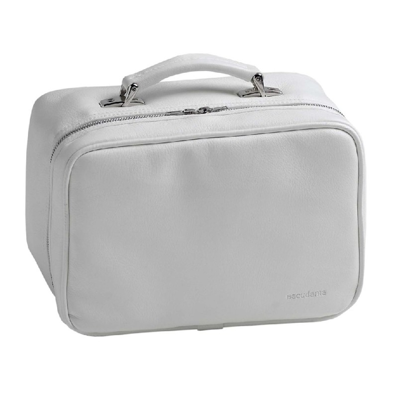 Little Lifestyles The Loren Beauty Case-White