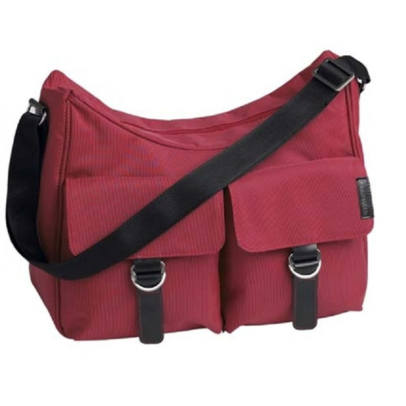 Little Lifestyles City Hobo Shoudler Bag-Raspberry