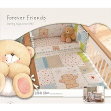 Forever Friends Little Star Cot/Cot Bed Bumper