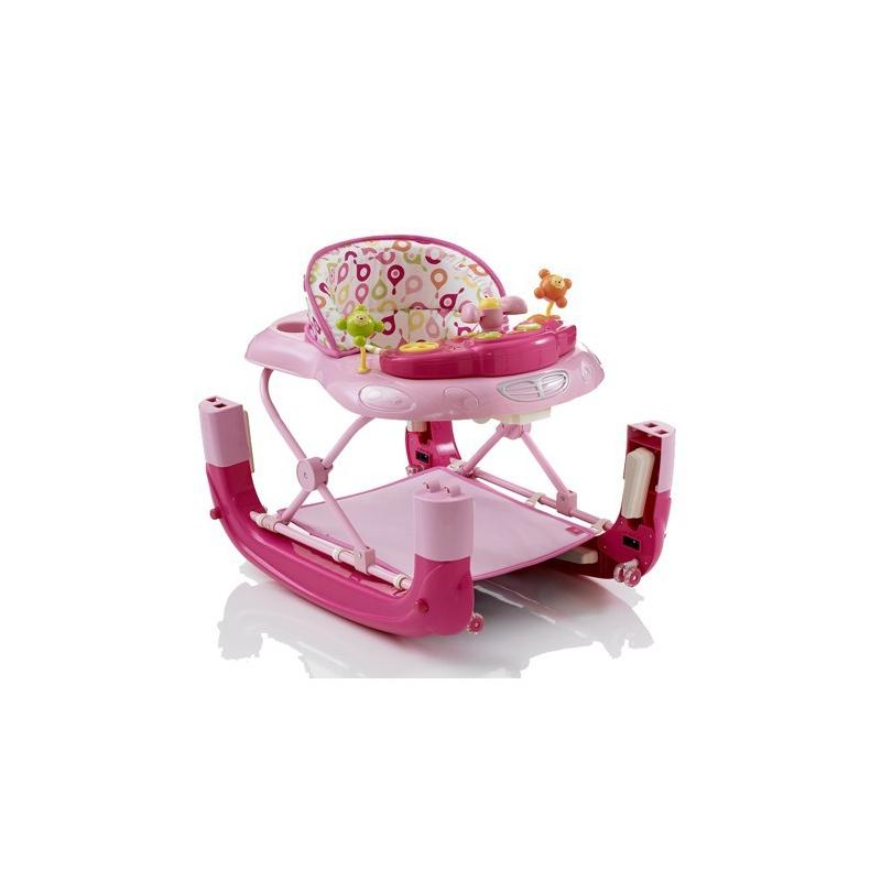 My Child 'n' Rock Baby Walker/Rocker-Pink