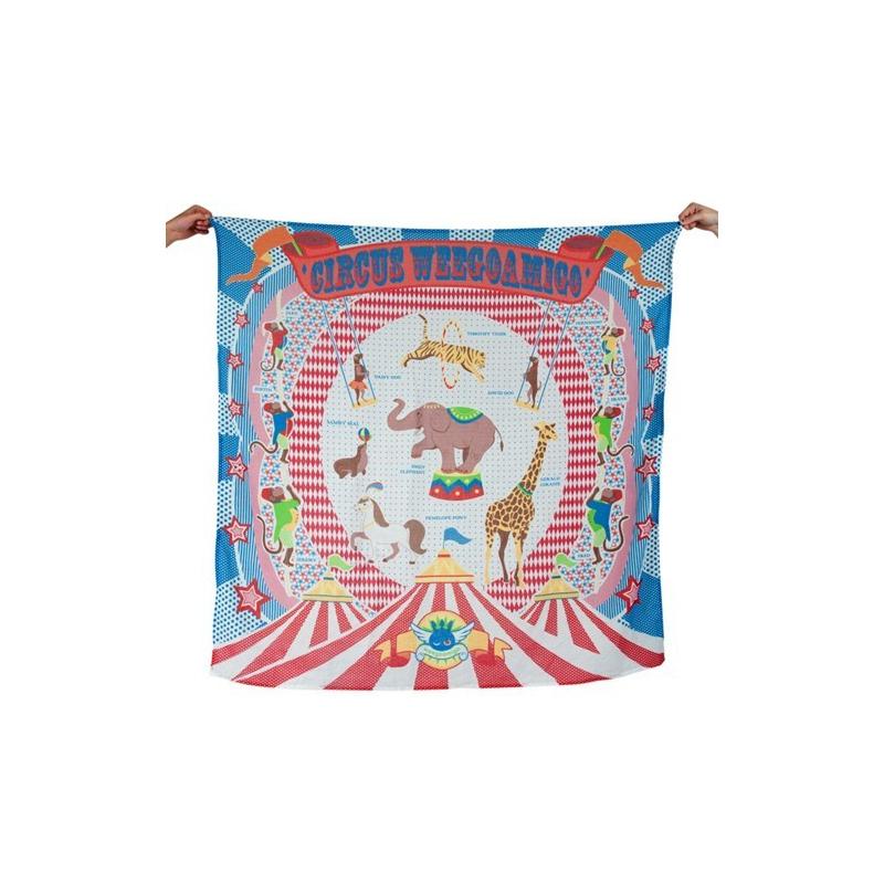 Weegoamigo Printed Muslin Wraps-Weego Circus (2014)