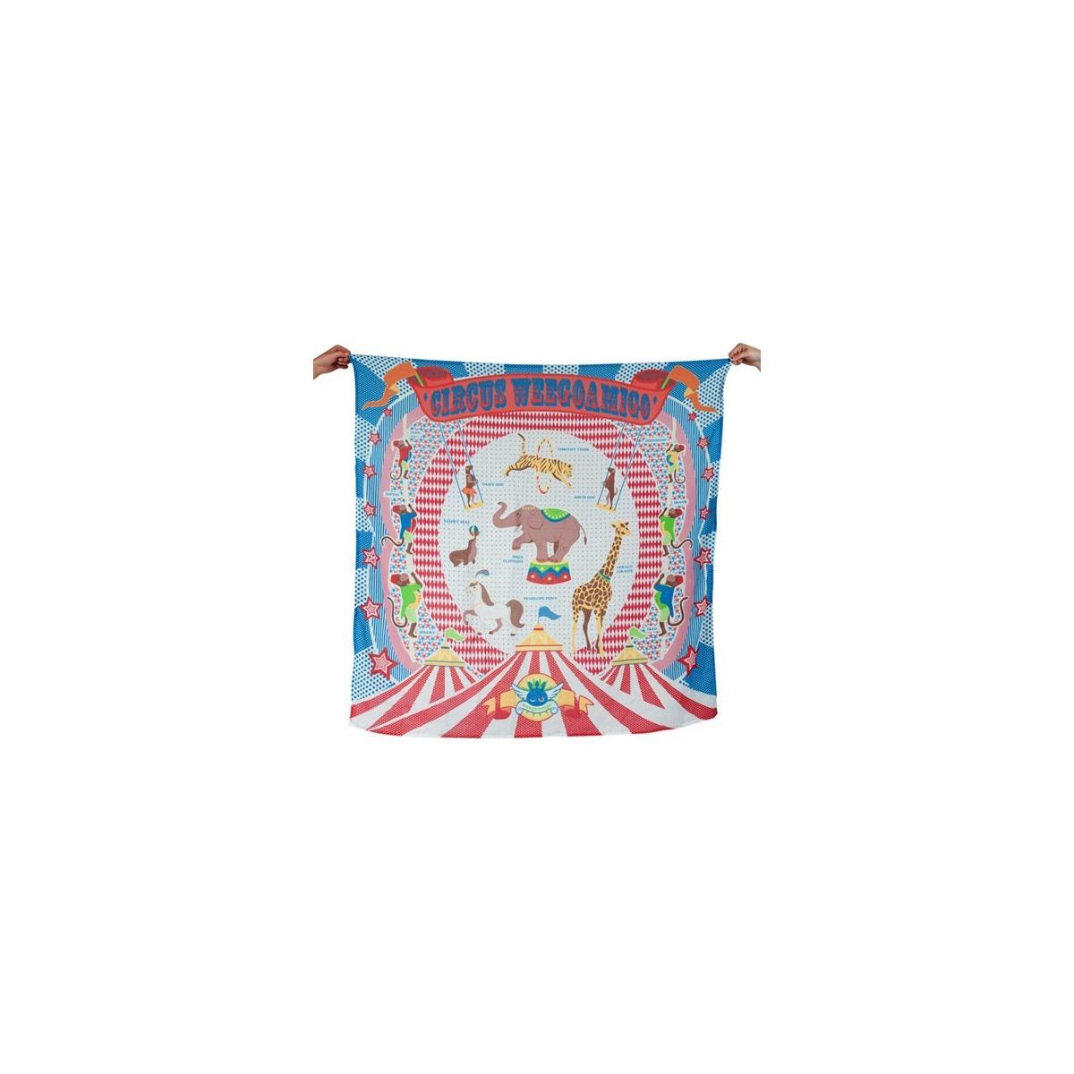 Weegoamigo Printed Muslin Wraps-Circus