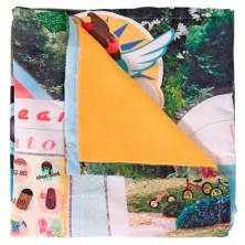 Weegoamigo Windshell Fleece Travel Blanket-Mr Frosty