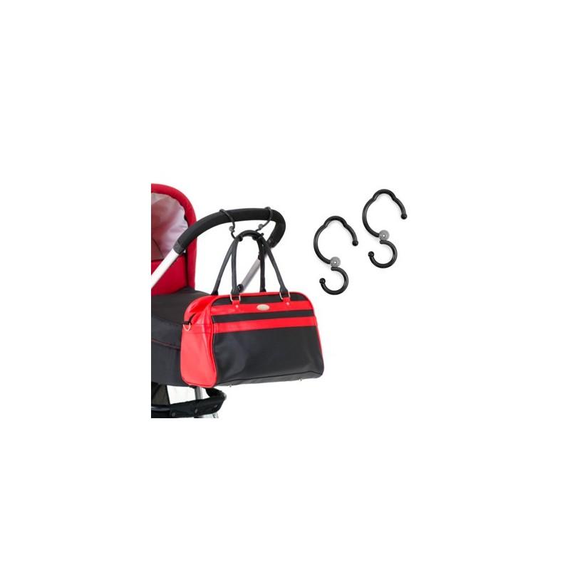 Hauck Hook Me-Stroller Hooks (New 2018)