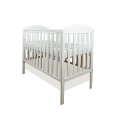Little Babes Nicki Cot-White