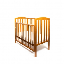 Little Babes Tobie Space Saver DROPSIDE Cot-Antique Pine + FREE Foam Mattress Worth £29.99!