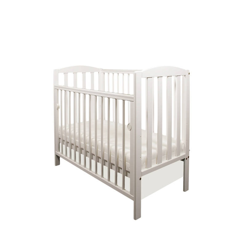 Tobie Space Saver Cot-White + FREE MATTRESS!