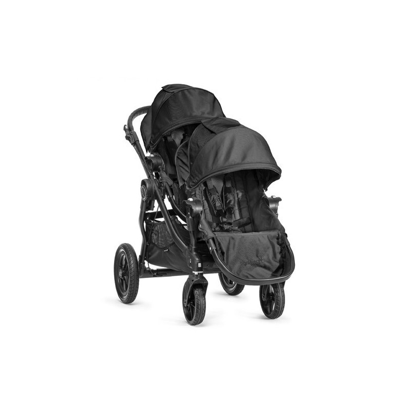 Baby Jogger City Select Tandem Stroller Black Includes Additional Seat Unit With Adaptors