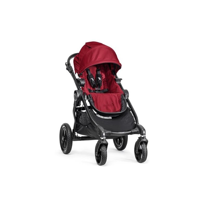 Baby Jogger City Select Tandem Stroller Red Kiddies Kingdom