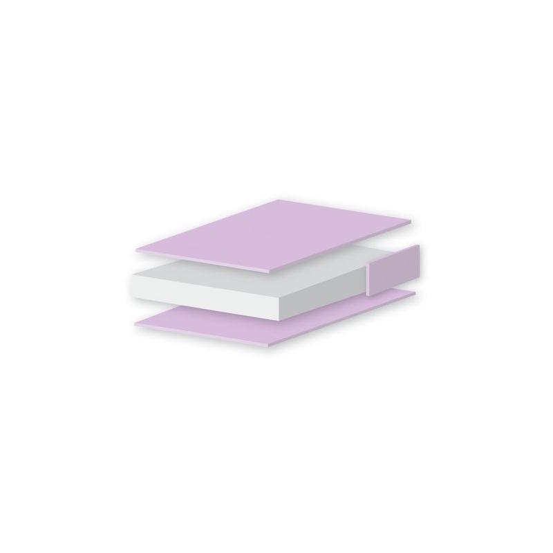 East Coast Cotbed Foam Mattress Washable Cover (140 X 70cm)