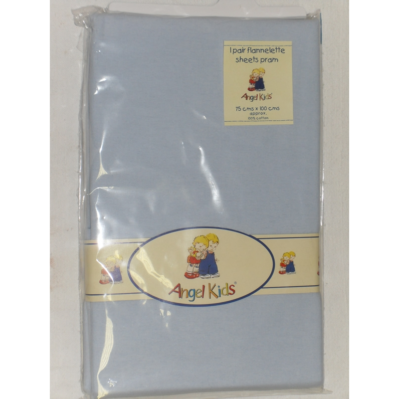 angel-kids-pram-sheets-flannelette--blue-2-pack