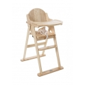 East Coast Wooden Folding Highchair-Natural