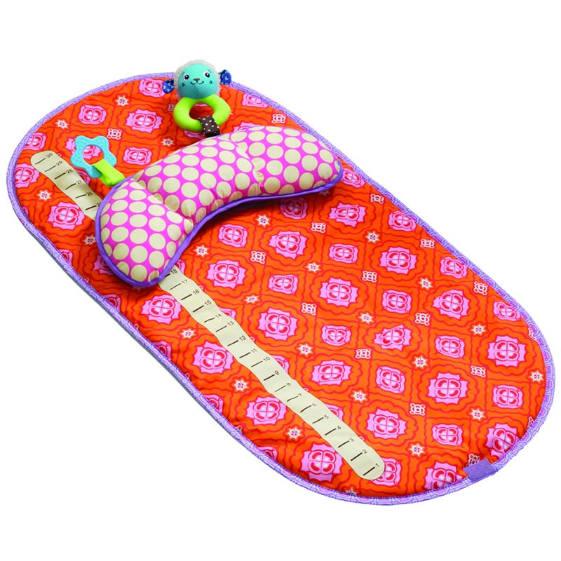 Infantino Vintage Tummy Time Mat Girl