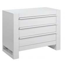 Tutti Bambini Rimini Chest Changer-High Gloss White