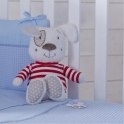 IzziWotNot 2 Piece Crib Set-Blue