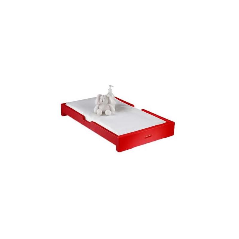 izziwotnot skyline cot top changer red kiddies kingdom. Black Bedroom Furniture Sets. Home Design Ideas