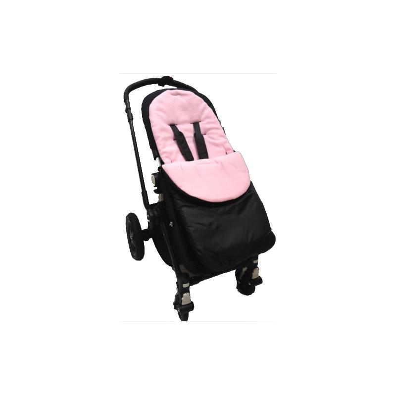 Kiddies Kingdom Showerproof Pushchair Footmuff-Light Pink