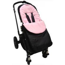 Kiddies Kingdom Deluxe Showerproof Pushchair Footmuff-Light Pink