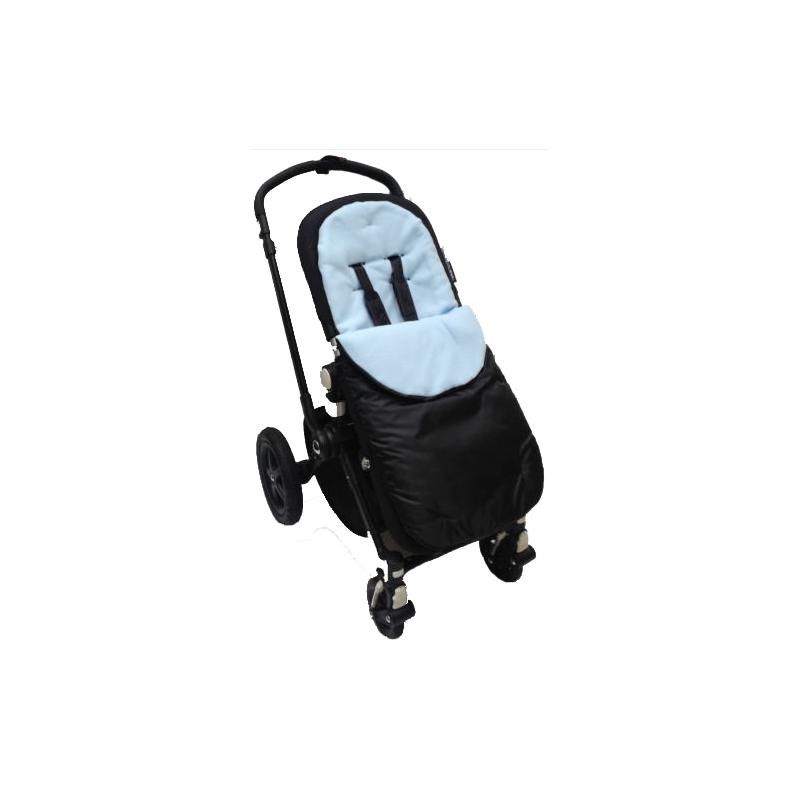 Kiddies Kingdom Showerproof Pushchair Footmuff-Light Blue