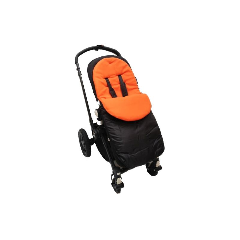 Kiddies Kingdom Showerproof Pushchair Footmuff-Orange
